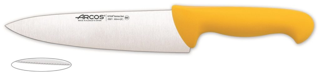 סכין שף משוננת 2900