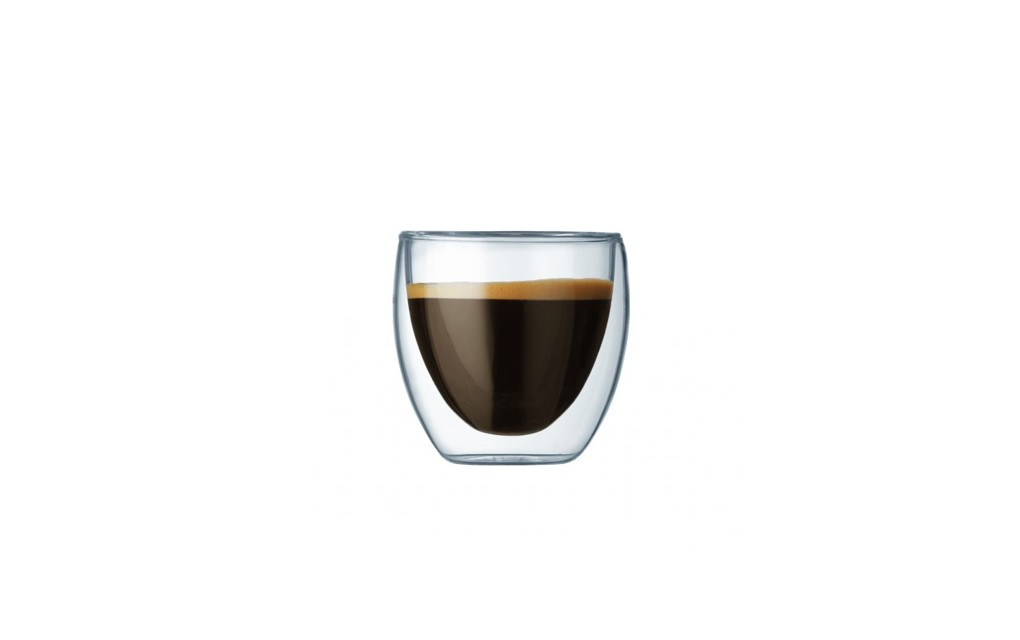 זוג כוסות דופן כפולה 80 ®PAVINA