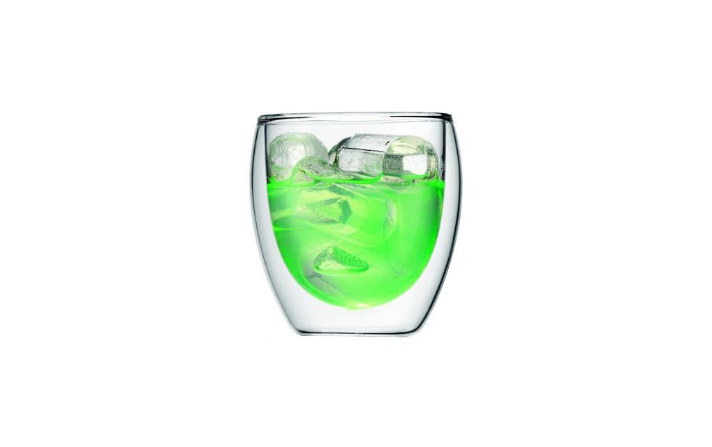 זוג כוסות דופן כפולה 250 ®PAVINA