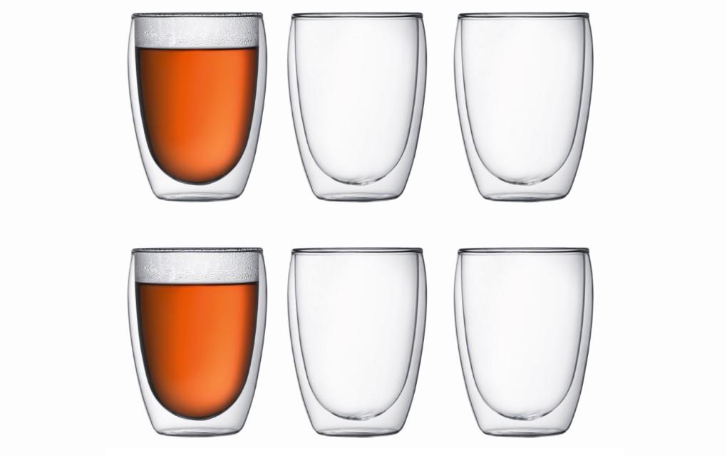 זוג כוסות דופן כפולה 350 ®PAVINA