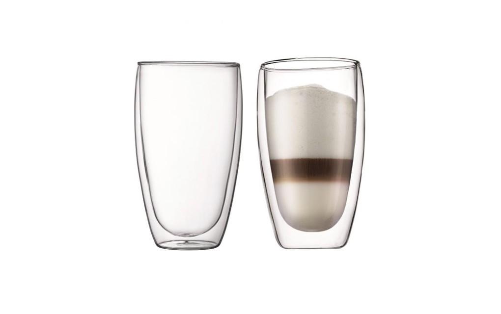 זוג כוסות דופן כפולה 450 ®PAVINA