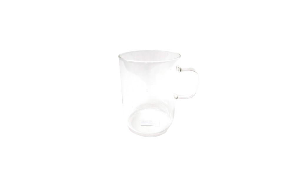 כוס תה רחבה זכוכית מחוסמת
