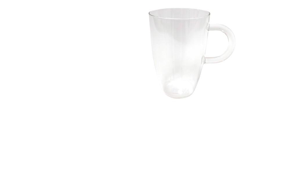 כוס תה קלאסית זכוכית מחוסמת