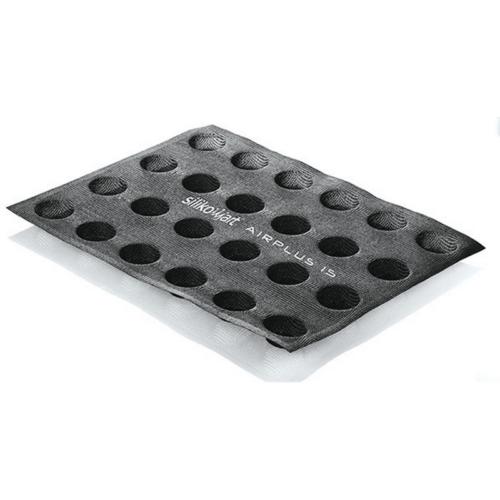 תבנית סיליקון 24 שקעים ROUND מיקרופייבר