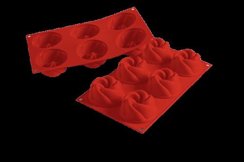 תבנית סיליקון ורטיגו 6 שקעים