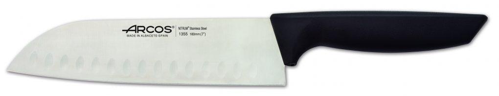 סכין סנטוקו שקעים מסדרת NIZA