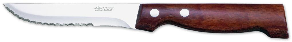 סכין סטייק רחב XL ידית עץ