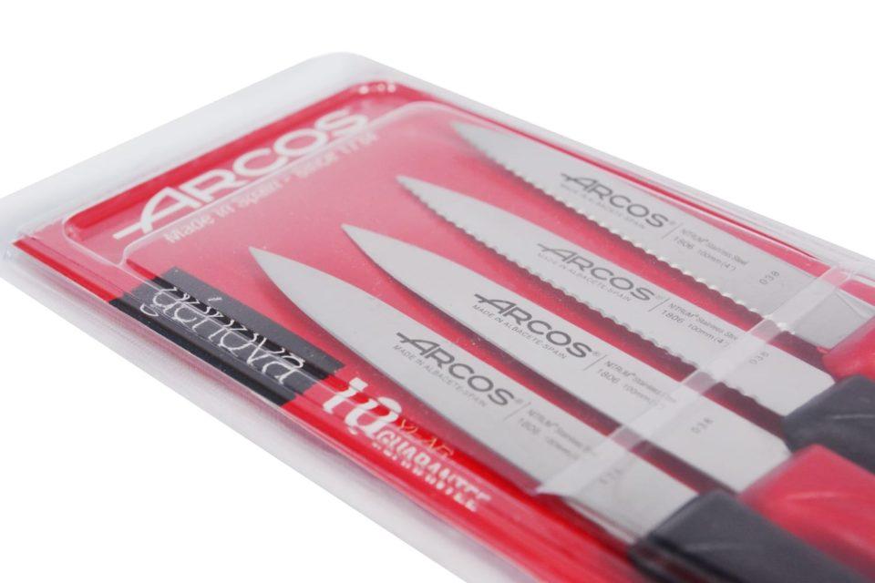 סט 4 סכיני ירקות Nova