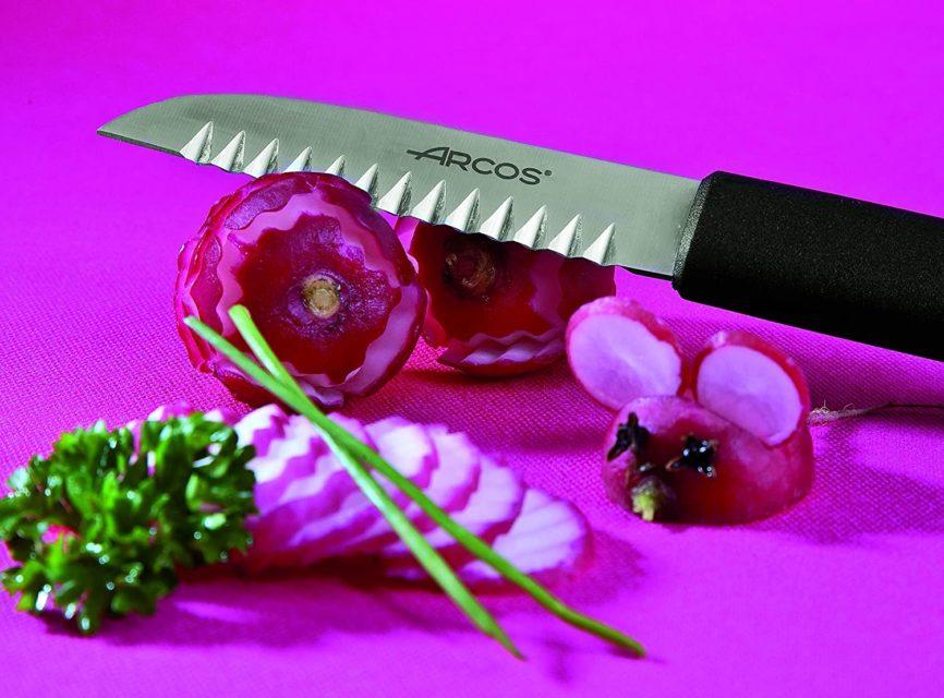 סכין זיגזג לקישוט נירוסטה