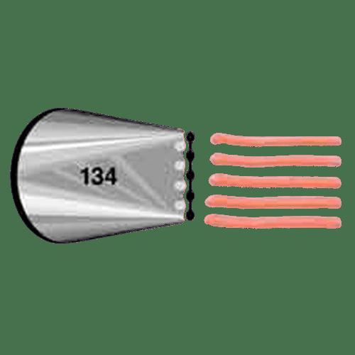 צנטר נירוסטה 134
