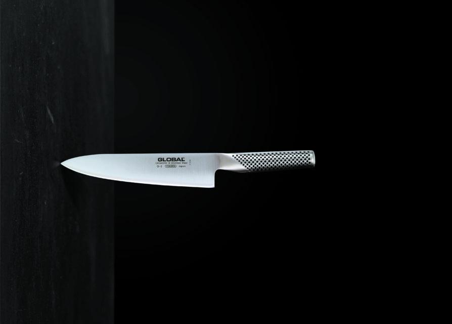 """סכין שף 20 ס""""מ בעלת להב רחב מהסדרה הקלאסית"""