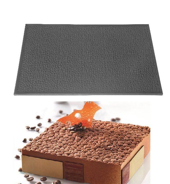 משטח סיליקון דקורציה פולי קפה