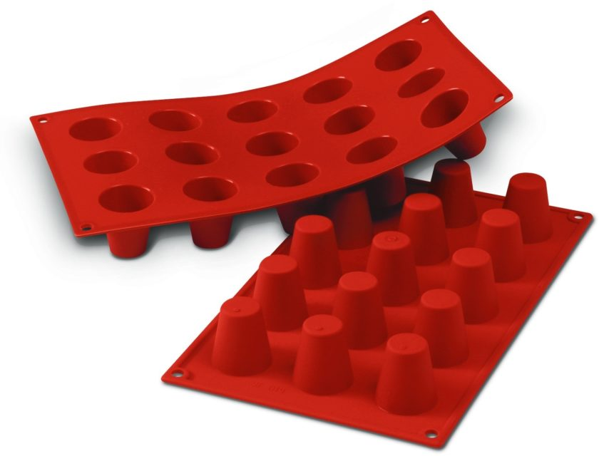 תבנית סיליקון מיני צילינדר 15 שקעים