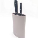 בלוק סכינים אובלי Mood Collection Beige