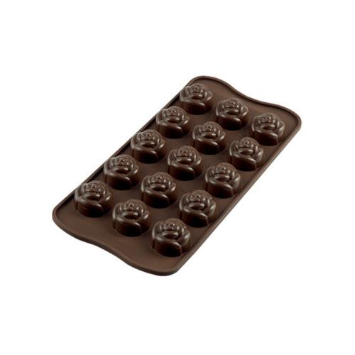 תבנית סיליקון לשוקולד Rose