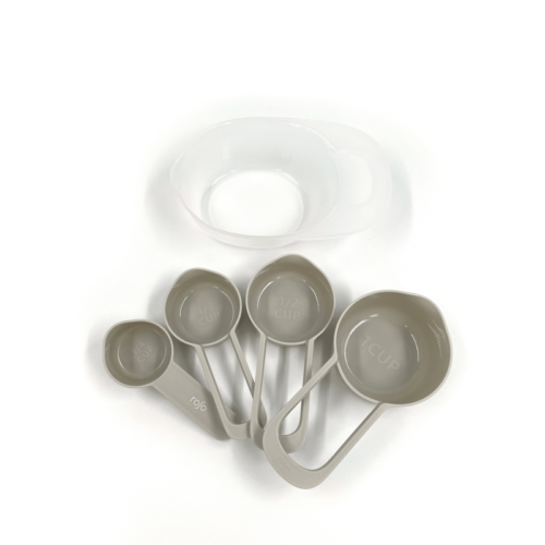 סט 5 כוסות מדידה אפור Glaze